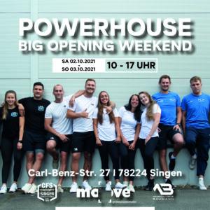 Powerhouse – Big Opening Weekend